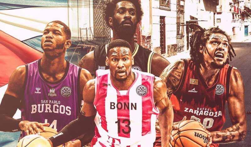 Cubanos Jasiel Rivero y  Yorman Polas a play off de la Basketball Champions League