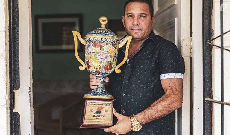 Maikro Romero boxeo cubano