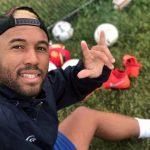 Andy Baquero, un futbolista y cantante que sueña ser jugador profesional