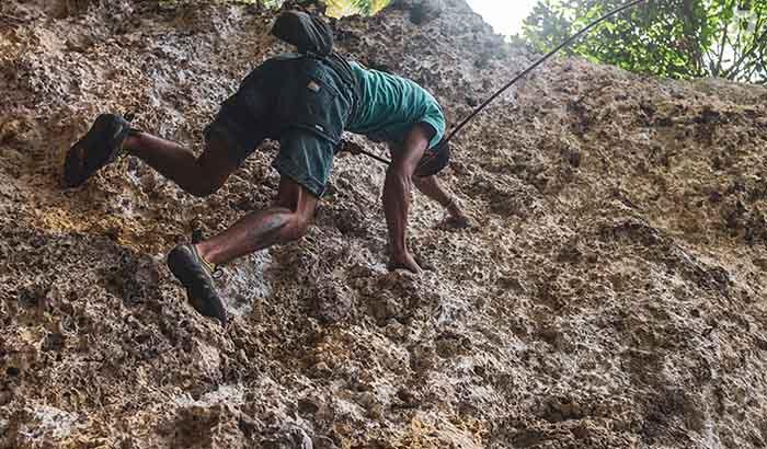 Escalada en Cuba: el desafío de vencer a la roca