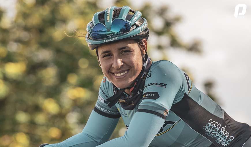 Postales de una ciclista cubana en la élite mundial