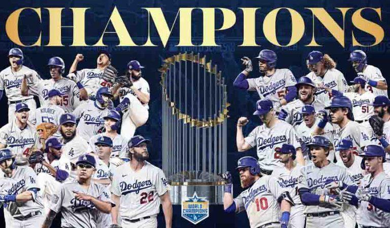 Dodgers campeones de la Serie Mundial
