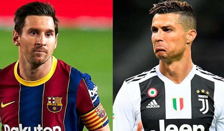 Messi contra Cristiano en Champions League