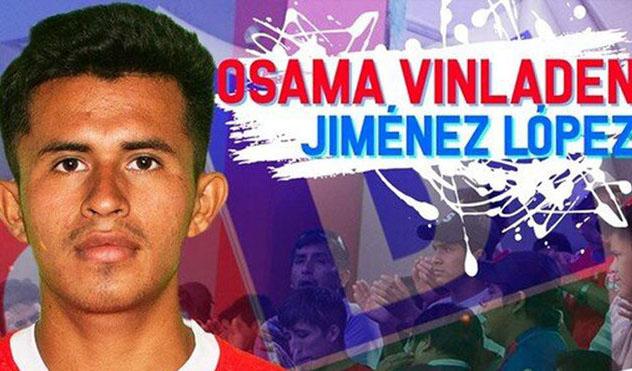 Osama Vinladen, curioso nombre de un futbolista peruano