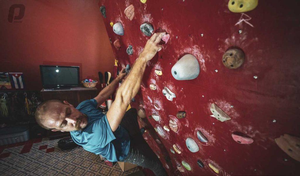 Aníbal Fernández escalada deportiva en Cuba