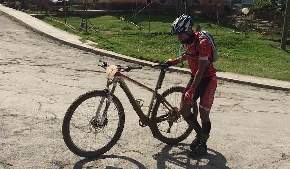 mountain bike cubano carrera