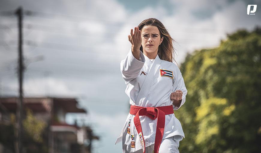 """Claudia Burgos: """"mi sueño sería participar en unos Juegos Olímpicos"""""""