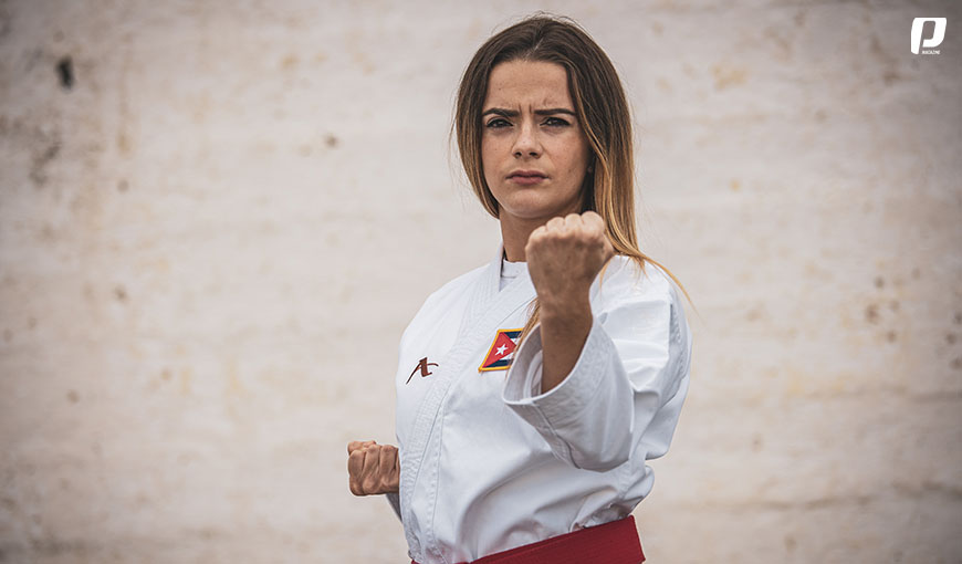 Karate-Do Claudia Burgos karateka