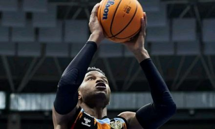 Jasiel Rivero, récord personal de puntos en Basketball Champions League