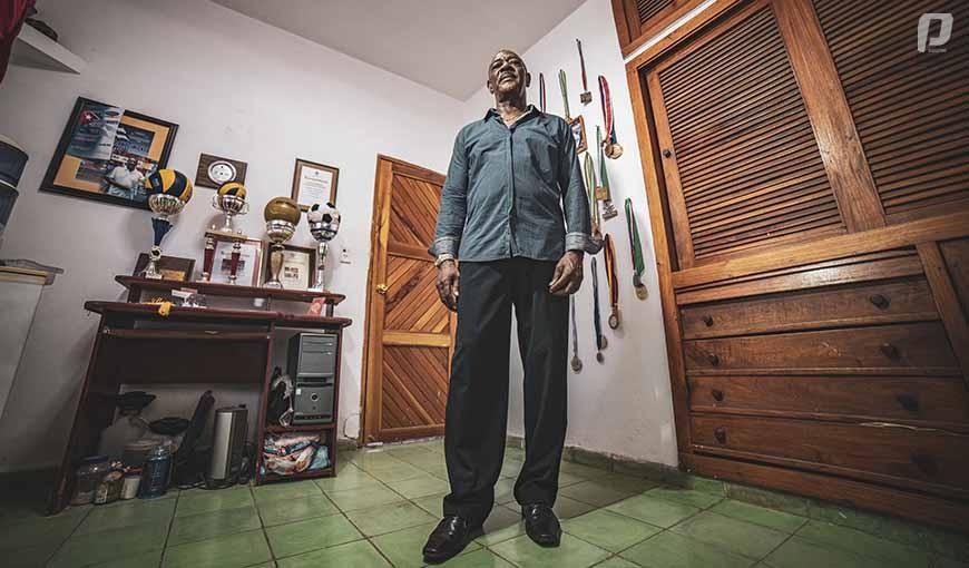 Orlando Samuels voleibol cubano entrenador