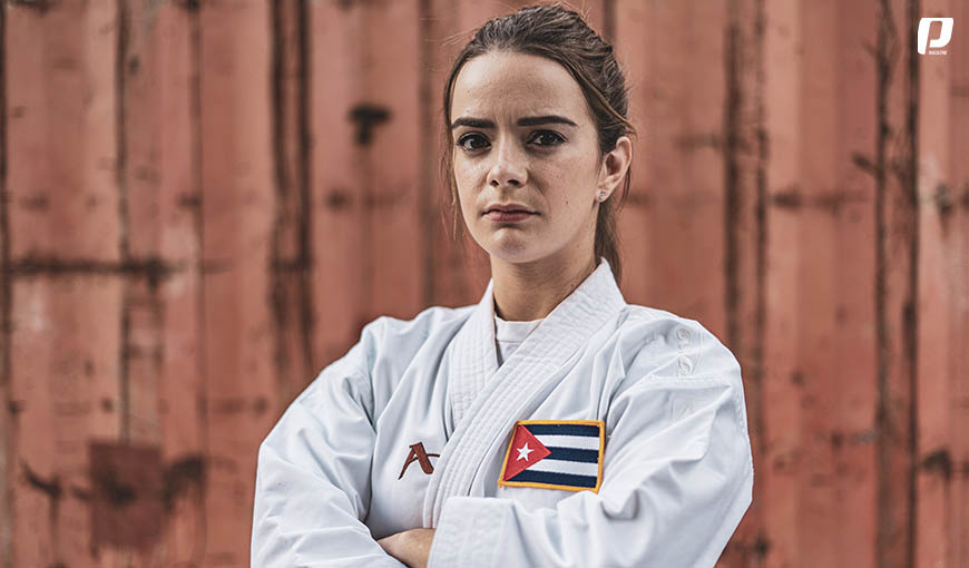 Karate-Do karateka cubana Claudia Burgos