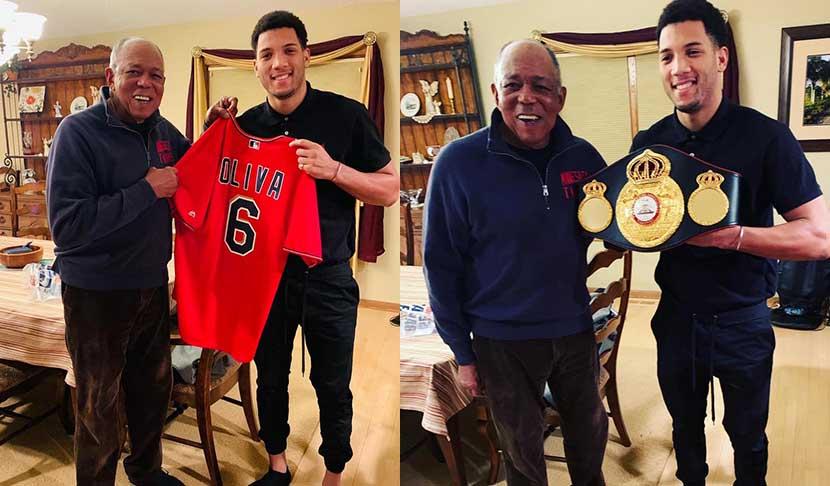 Espectaculares noticias para David Morell, la sensación del boxeo cubano