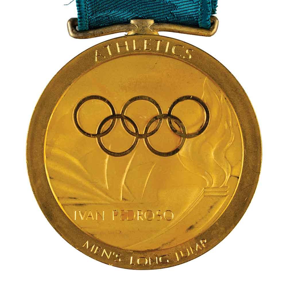 Medalla de Iván Pedroso vendida.