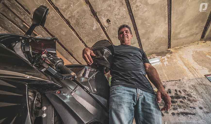 Nirio Rivero motociclismo cubano
