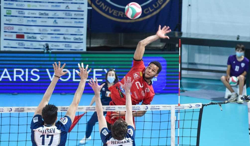 Osniel Melgarejo se lleva el MVP ante el Paris Volley