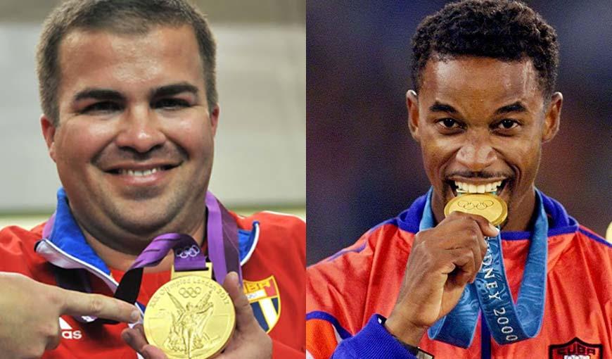 En subasta medallas de oro olímpicas de Iván Pedroso y Leuris Pupo
