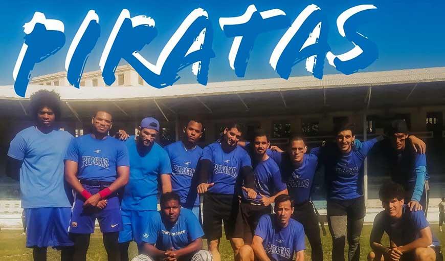 Piratas gana tercera edición de Liga Cubana de Football Flag