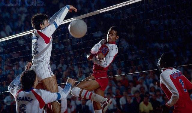 Abel Sarmientos, una estrella del voleibol en el olvido