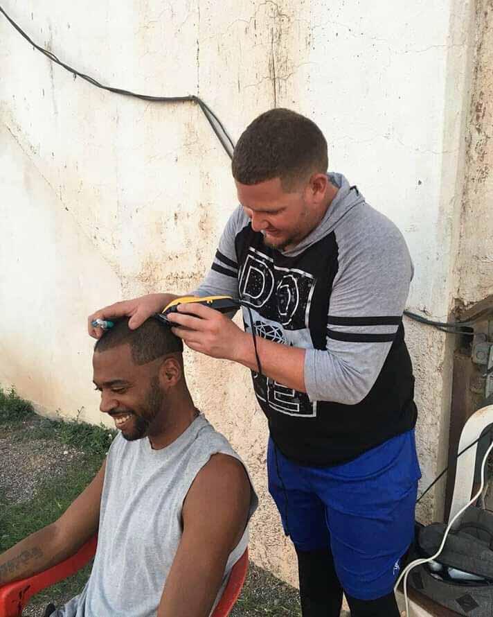 Misael Siverio, el barbero de Placetas