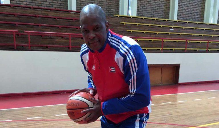 Yudi Abreu, jugador cubano de baloncesto.