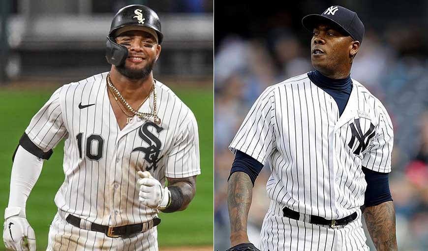 Chapman sigue perfecto y Moncada la bota: cubanos en la MLB