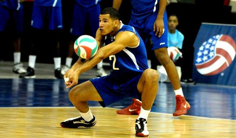 Inovel Romero equipo Cuba de voleibol
