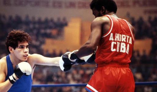 boxeador cubano Adolfo Horta