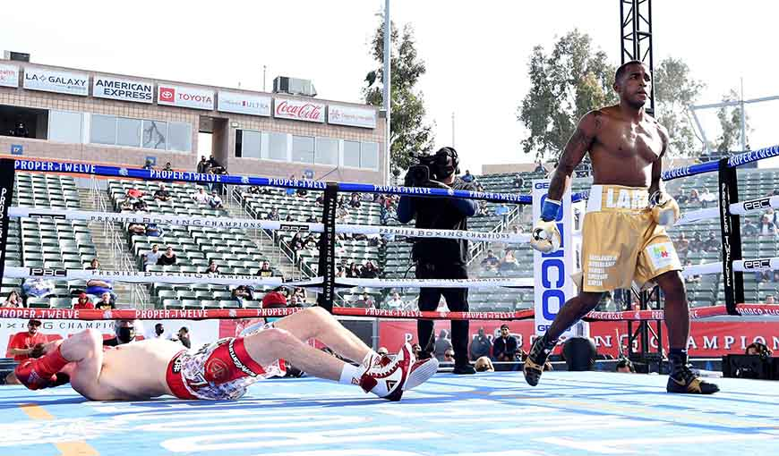 ¡Erislandy Lara, campeón!: agranda su leyenda con brutal KO