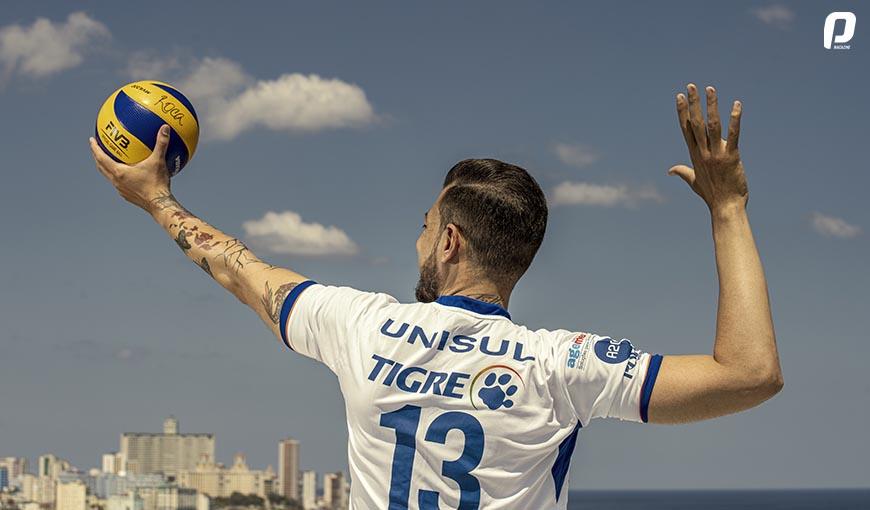 jugador cubano de voleibol Alain Roca