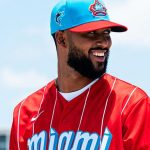 Marlins homenajean a Cuban Sugar Kings con atractivo uniforme