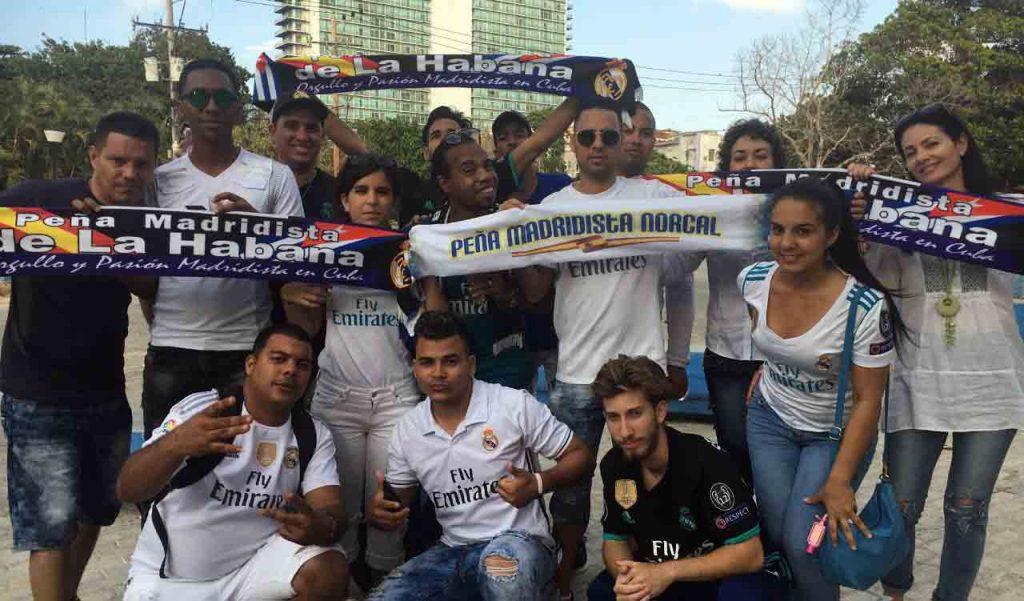 Peña oficial del Real Madrid en Cuba