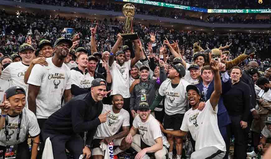 Milwaukee Bucks, campeón de la NBA con sangre cubana en sus filas