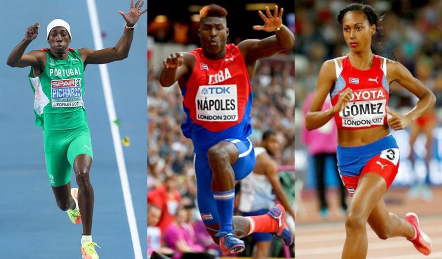 Atletismo cubano: Pichardo y Nápoles a la final del triple y Roxana a semis en los 400