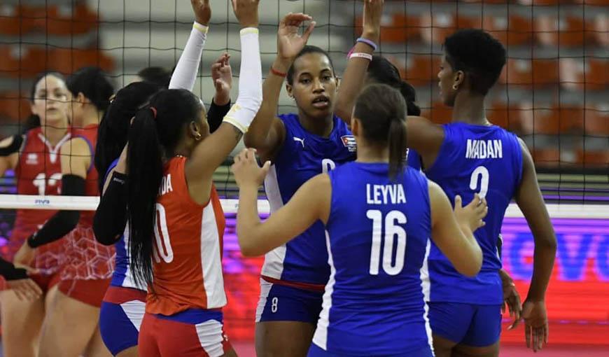 seleccion cubana de voleibol femenino