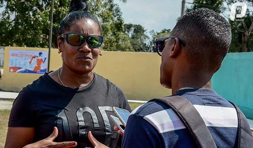"""Yipsi Moreno y su receta """"optimista"""" para salvar el atletismo cubano"""